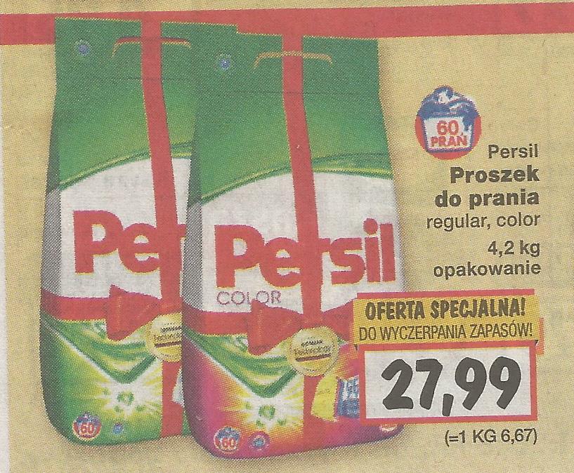 Proszek do prania PERSIL 4,2KG /Kaufland