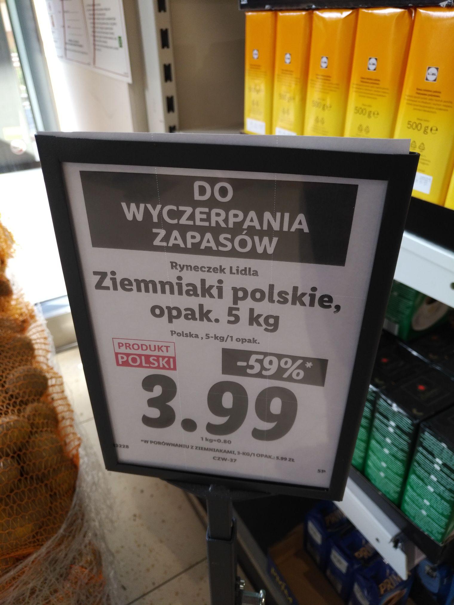 Ziemniaki 5 kg lokalnie