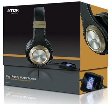 (AKTUALIZACJA) Słuchawki TDK  ST-800 HiFi z equalizerem za 180,99 zł! @ EMPIK