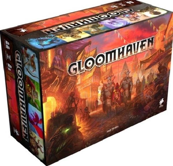 Gra Gloomhaven edycja polska na październikowy dodruk