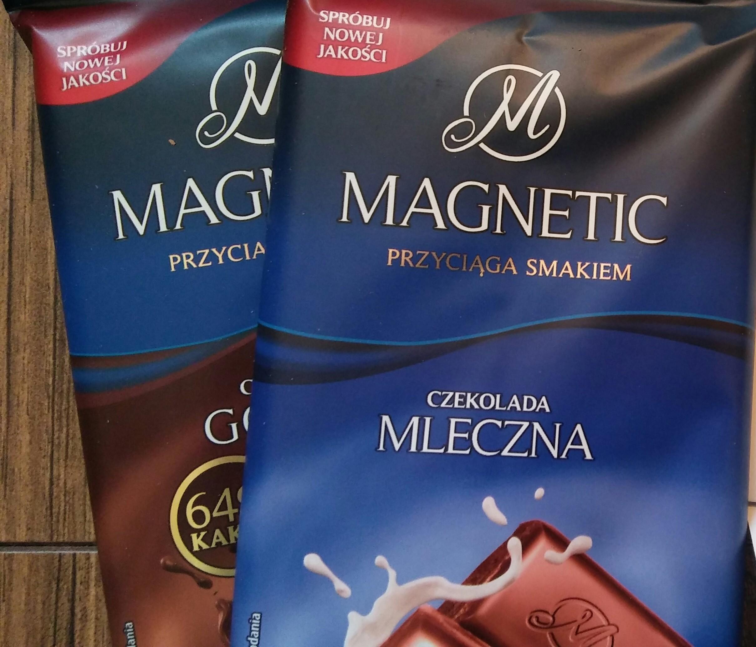 Czekolada Magnetic 100 g mix ( kup 3 zapłać 1,49 zł za jedną)