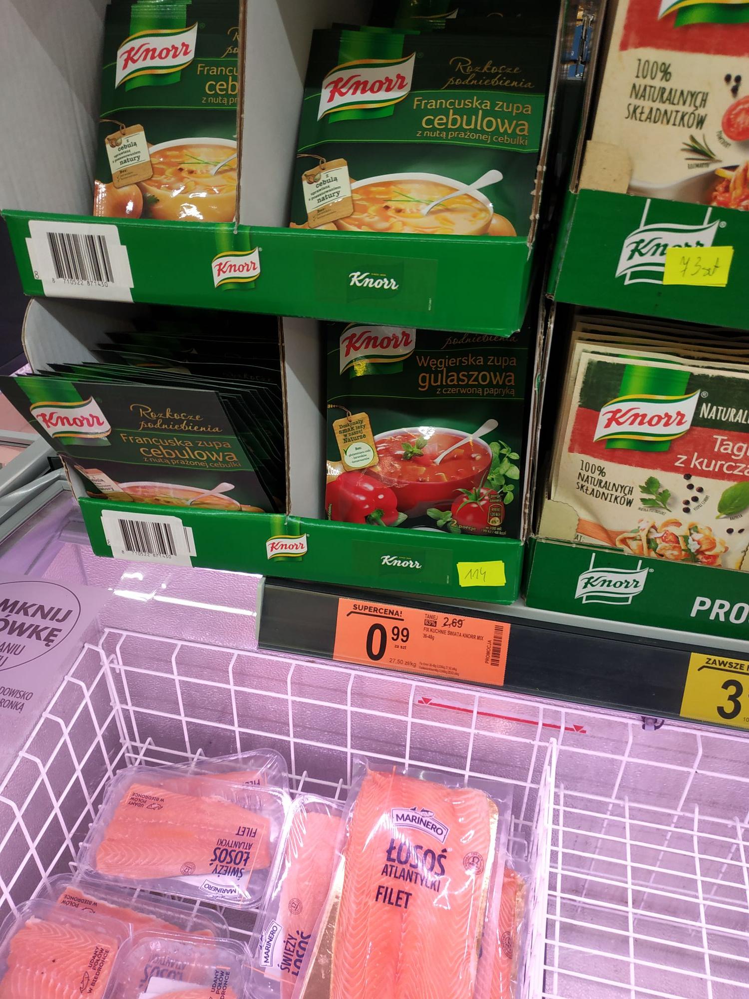 Fix kuchnie świata Knorr - Biedronka