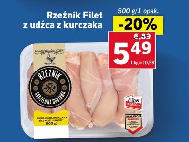 Udka z kurczaka -20% taniej, mięso mielone -28% w Lidlu