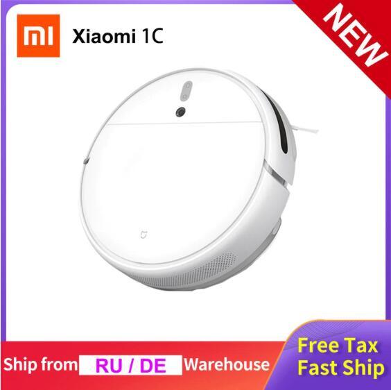 Odkurzacz automatyczny Xiaomi 1C z mopowaniem + nawigacja optyczna + Mi Home + wysyłka z EU za $179.98