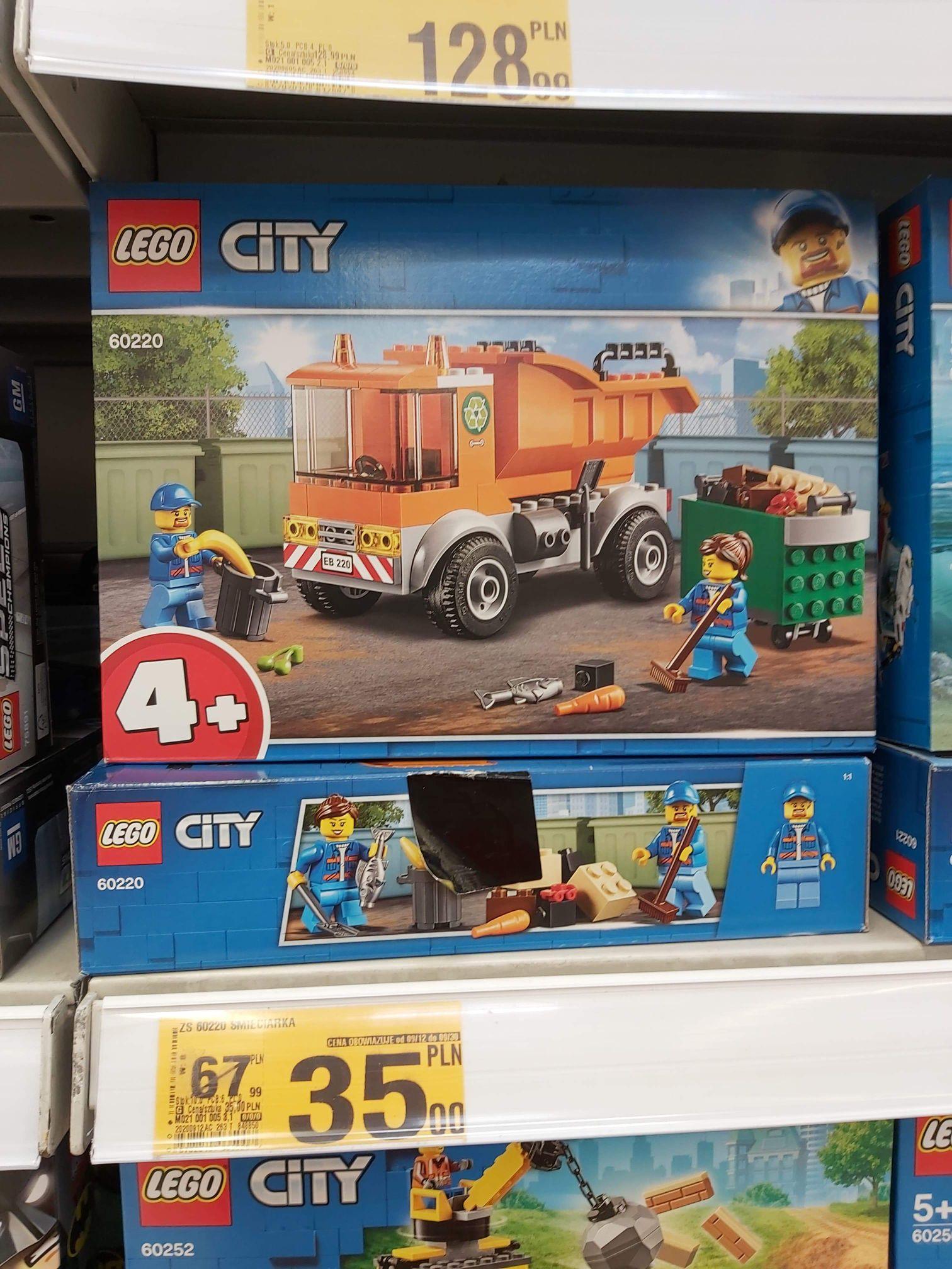 Lego wyprzedaż, wybrane zestawy lokalnie tylko Auchan Pasaz Łódzki Łódź Jana Pawła II