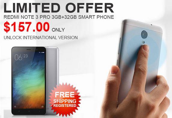 Xiaomi Redmi Note 3 Pro 3GB/32GB 5.5 Snapdragon 650 International @ZAPALS