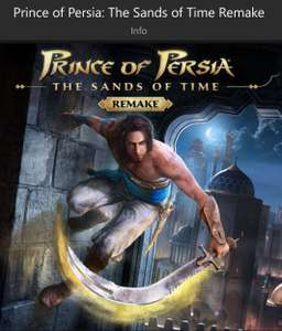 Prince of Persia: The Sands of Time Remake Xbox ONE MS Turcja