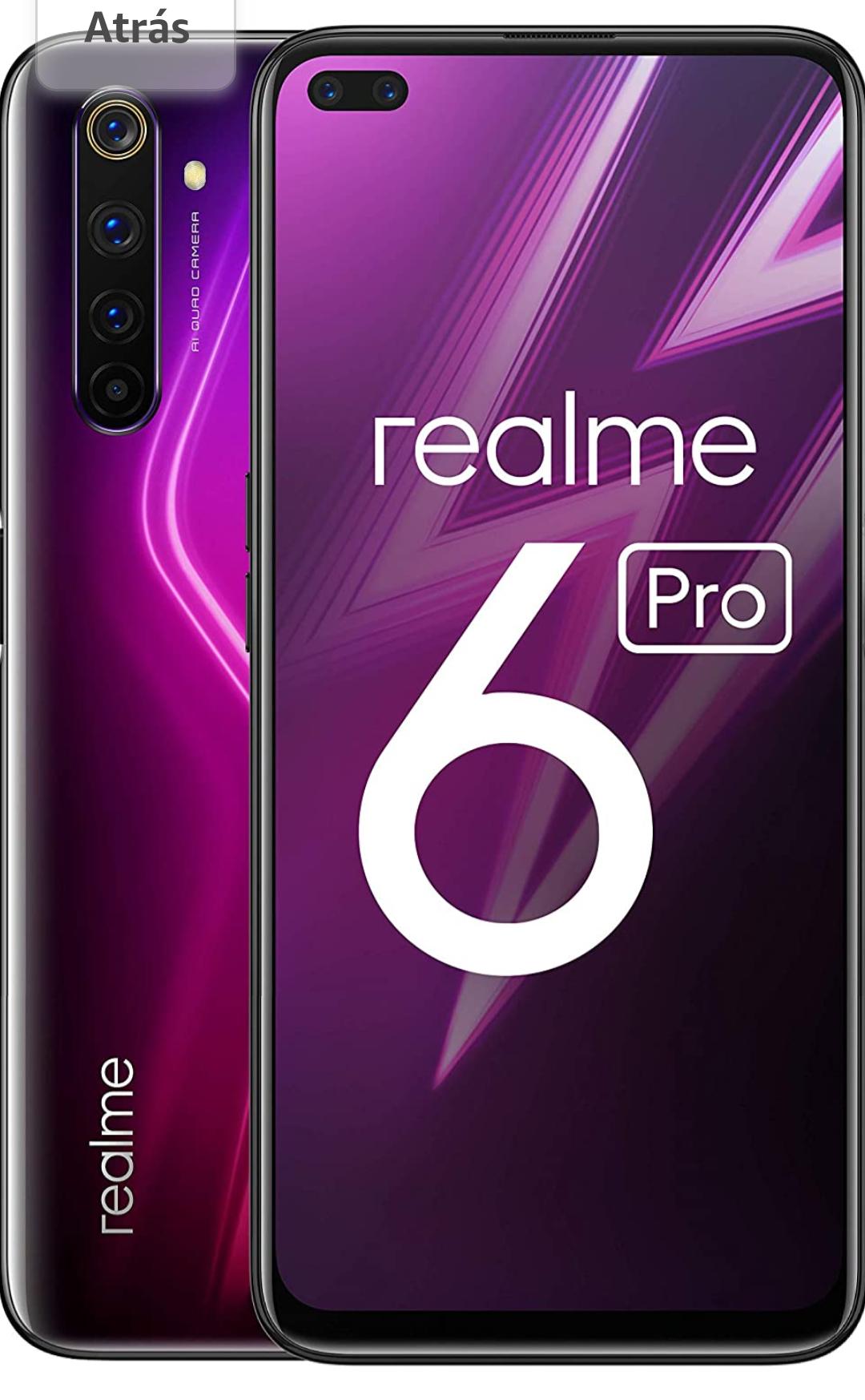 Realme 6 Pro. Amazon Hiszpania. Gwarancja (finalnie 278,23 € )