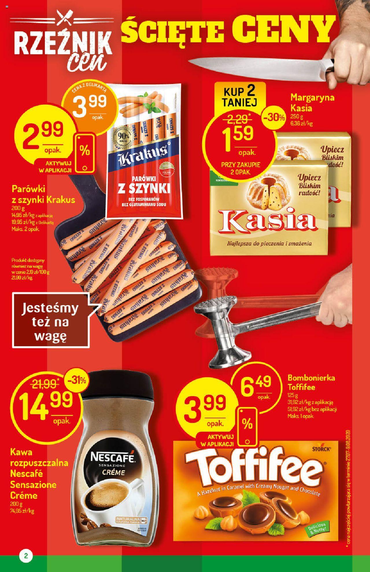 Parówki Krakus 90% mięsa z szynki