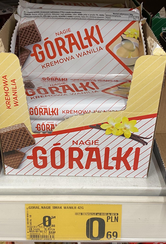 Auchan M1 KRK_Wafle Góralki, bardzo dużo i są różne smaki