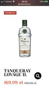 Gin Tanqueray Lovage 1L - Alkoutlet