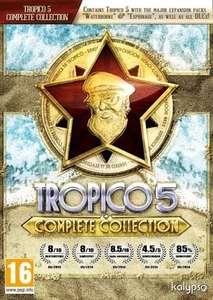 Tropico 5: Complete Collection Steam Key
