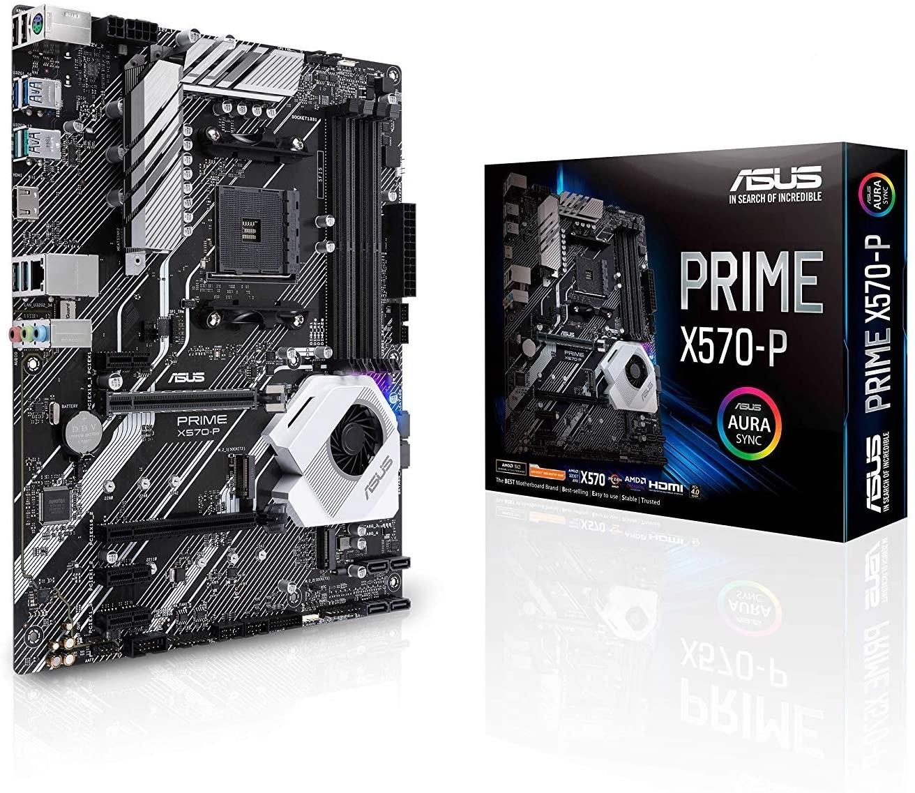 Płyta główna ASUS Prime X570-P (AMD, AM4, ATX)