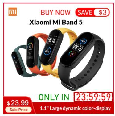 Xiaomi Mi Band 5 - 24.99$