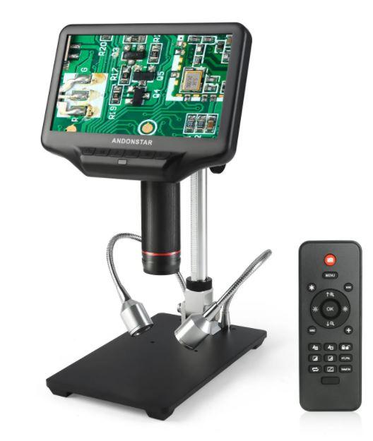 Mikroskop do lutowania Andonstar AD407 (w wyjściem HDMI) z wysyłką z Hiszpanii @ Banggood