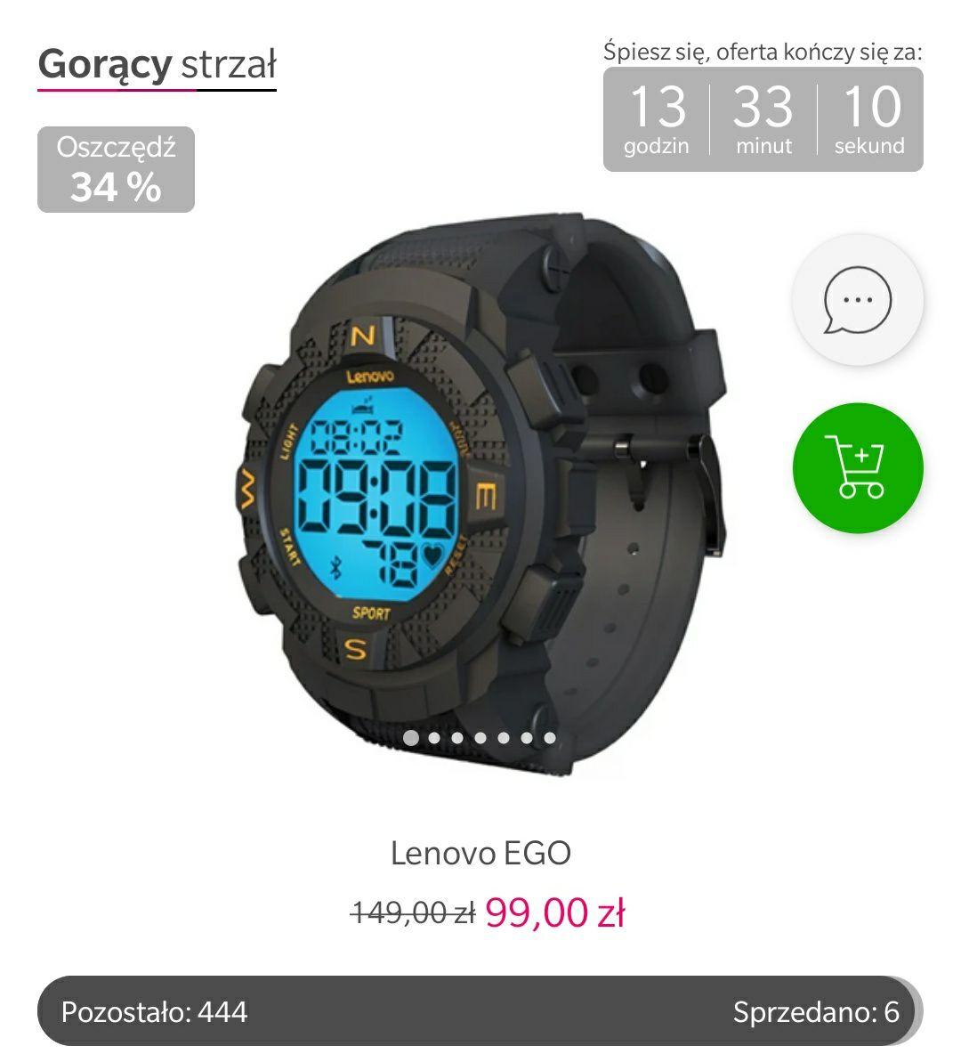 Smartwatch Lenovo EGO X-kom