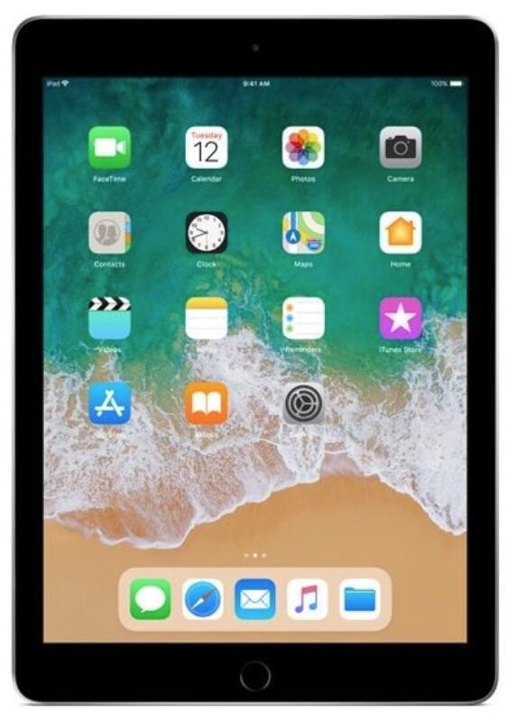 Tablet APPLE iPad 9.7 128GB Wi-Fi Gwiezdna szarość MR7J2FD/A (Ekspozycja)