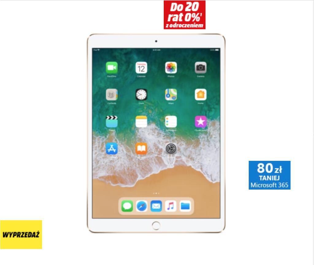 Tablet APPLE iPad Pro 10.5 Wi-Fi 256GB Złoty MPF12FD/A (Ekspozycja)