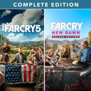 Far cry 5 + Far cry New Dawn w PSN PL PS4