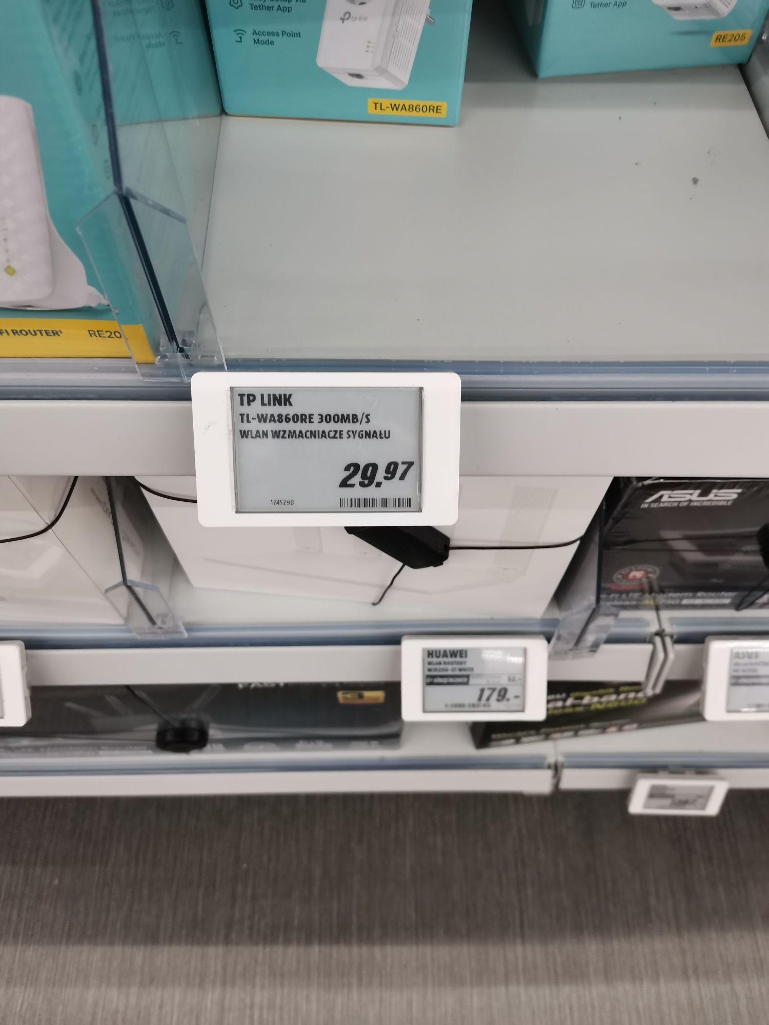 Wzmacniacz WiFi TP link TL wa860re - Media Markt Warszawa