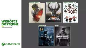 Xbox Game Pass - nowe gry