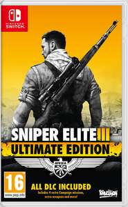 Sniper Elite 3 Ultimate Edition oraz Sniper Elite V2 Remastered przecenione w Nintendo eShop @ Switch