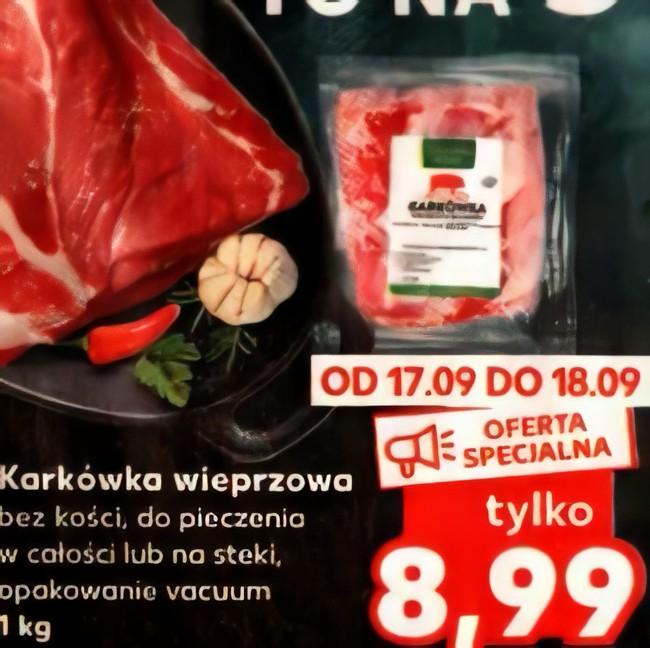 [Kaufland] Karkówka wieprzowa 8.99 zł/kg