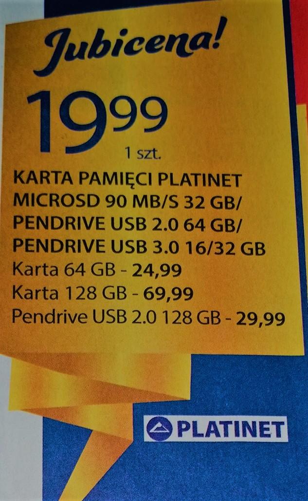 Pendrive Platinet 128GB USB 2.0