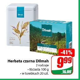 Herbata czarna Dilmah liściasta 100g lub w torebkach 20 szt. @Dino