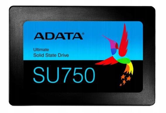 """ADATA Ultimate SU750 SSD 2,5"""" 512GB 550/520MBs TLC 3D"""