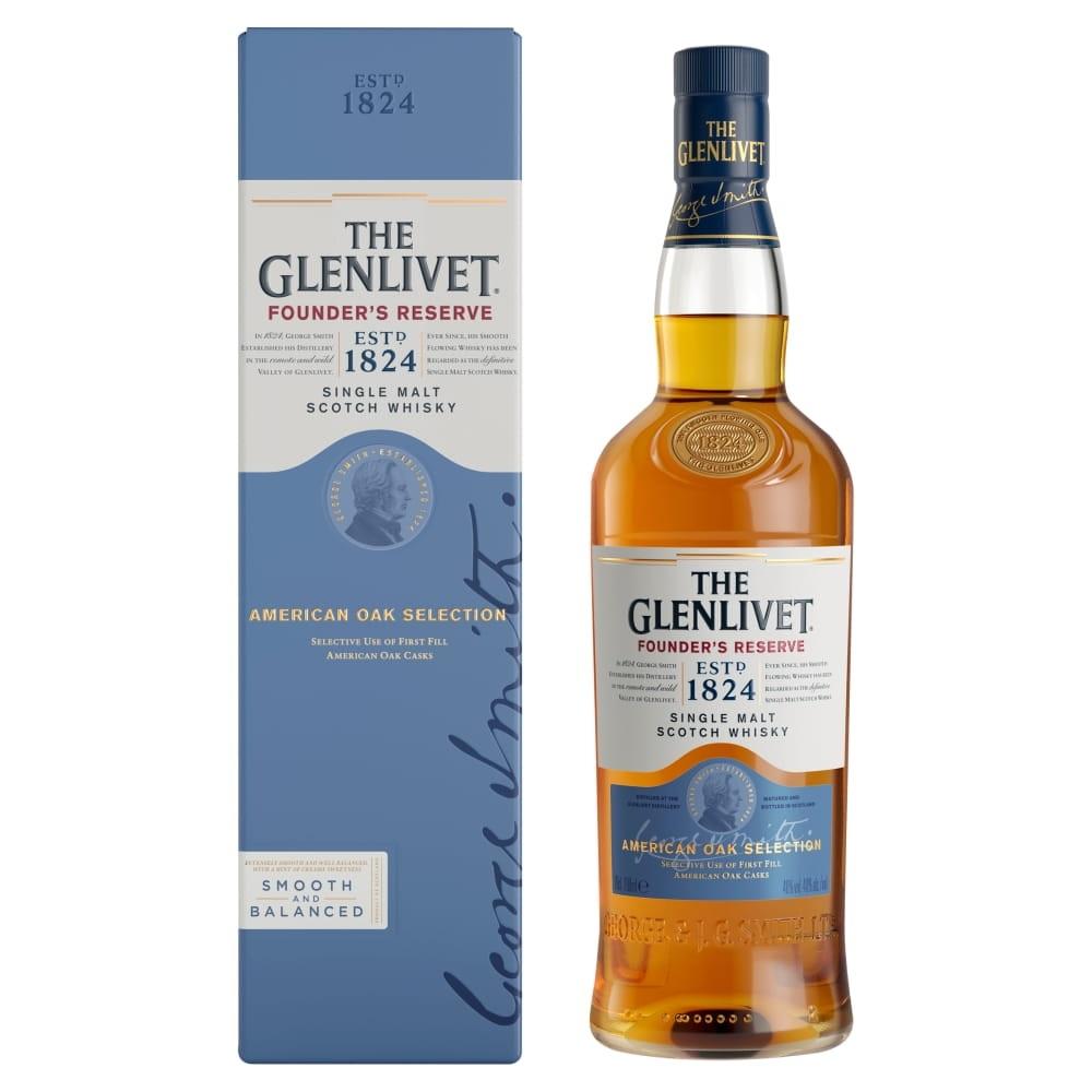 Whisky Glenlivet Founder's Reserve 0,7l w Alkooutlet