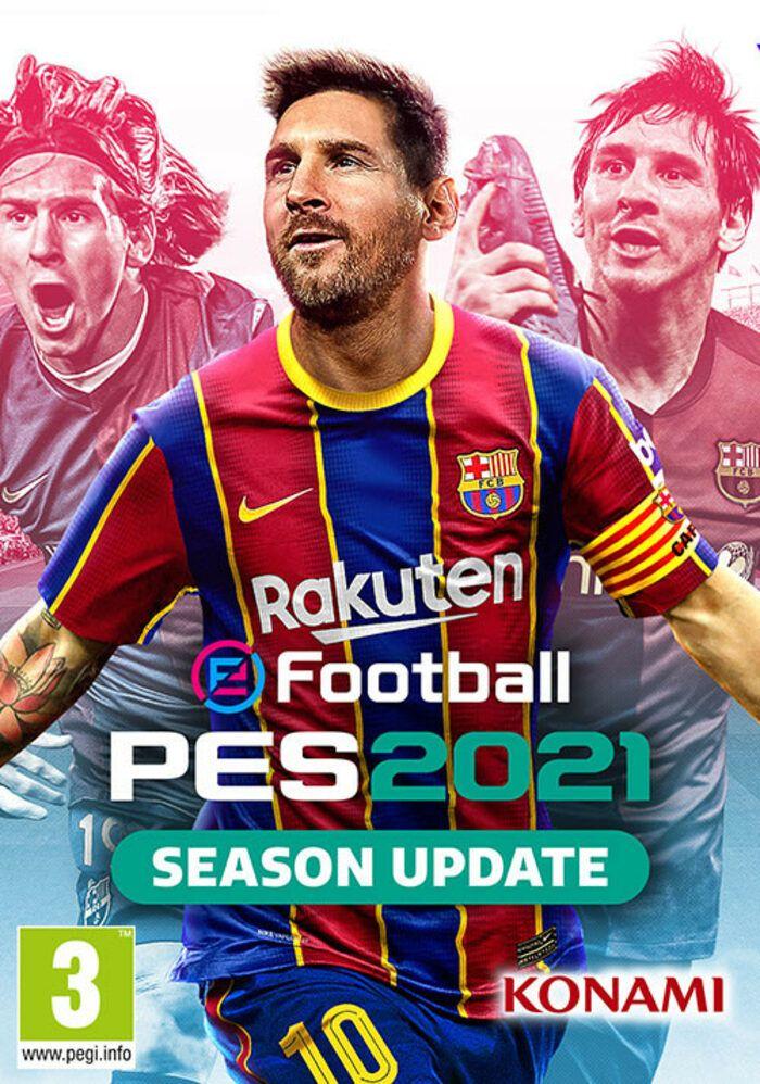 eFootball PES 2021 Season Update Standard Edition na PC za 63,79 w CDKeys