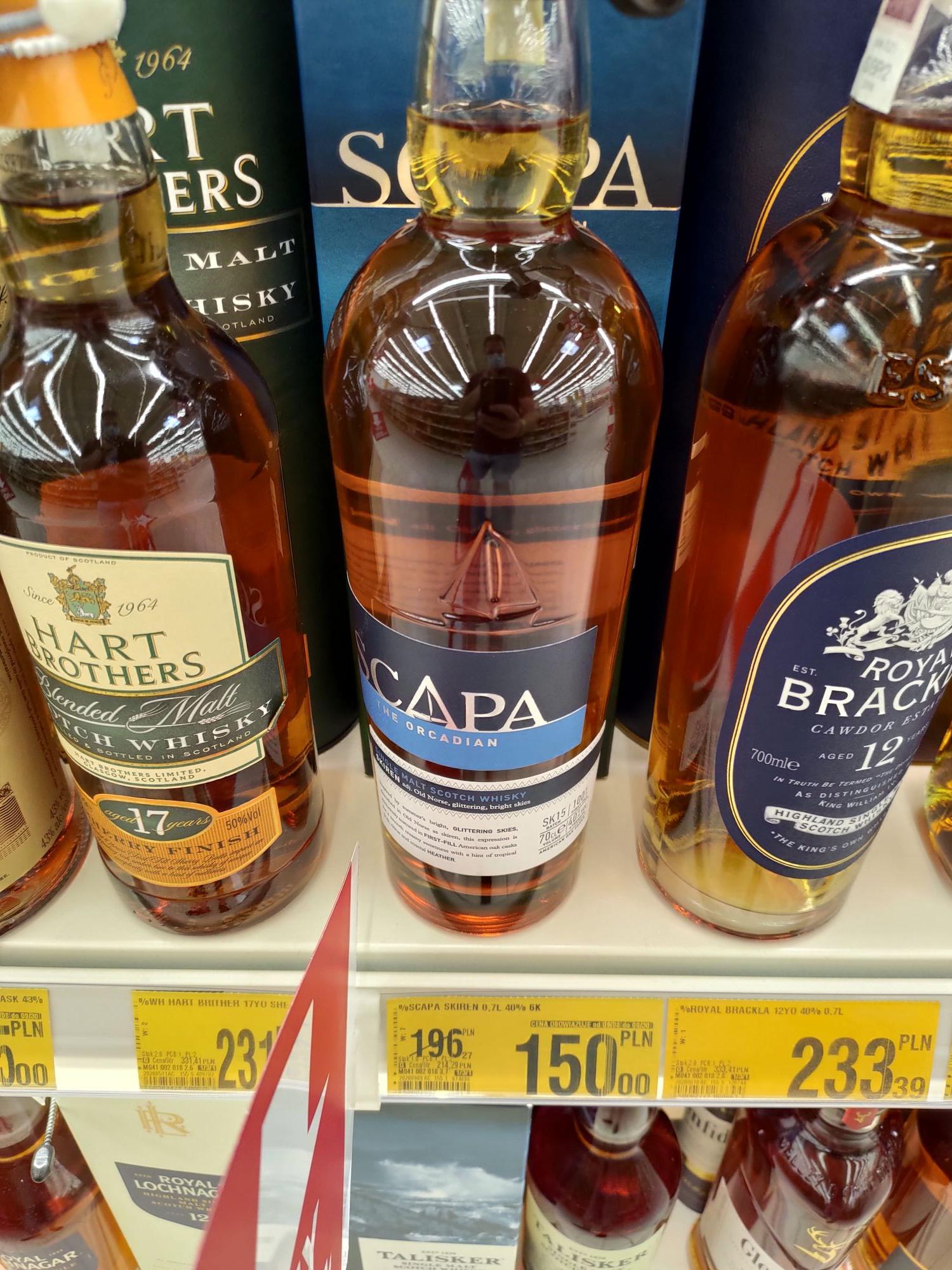 Whisky Auchan M1 Zabrze oferta zbiorcza