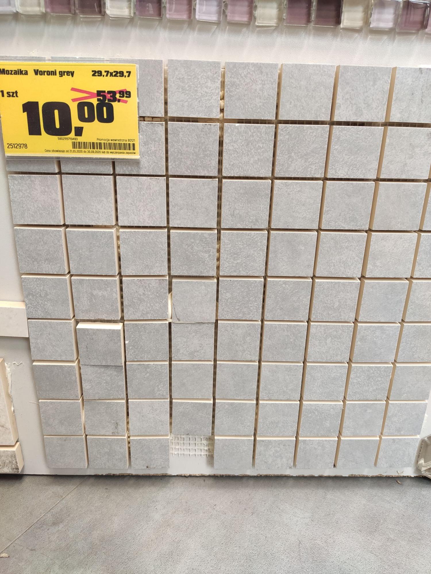 Mozaika Voroni Grey