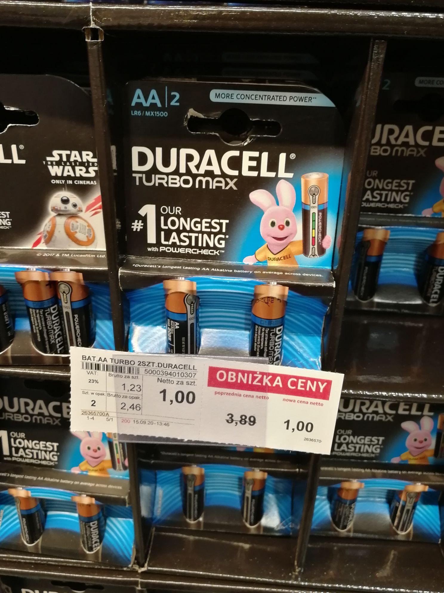Baterie duracell 2 sztuki warszawa selgros Rembertów