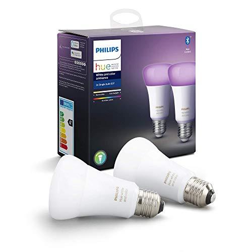 2 x żarówka Philips Hue White and Color Ambiance E27 Zigbee+Bluetooth