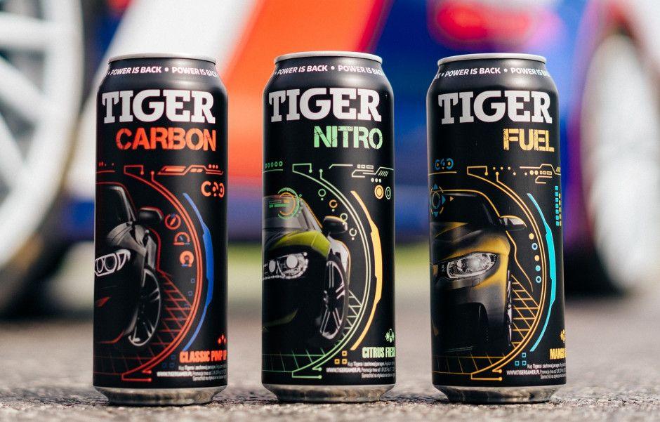 Napój energetyczny Tiger Mix 0.5l #Biedronka