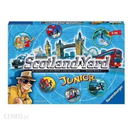 Scotland Yard Junior - gra planszowa Empik