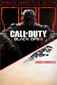 Call of Duty®: Black Ops III - Zombies Chronicles Edition Xbox VPN Brazylia R$99,50