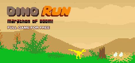 """Dino Run: Marathon of Doom"""" (Windows / Mac PC) za darmo na IndieGala -Tak retro, że nawet dinozaury grają razem."""