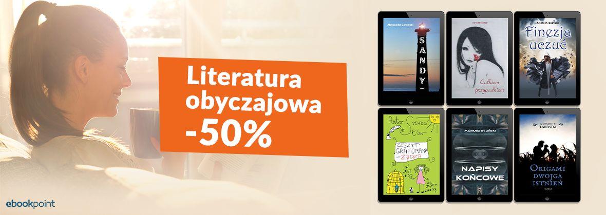 Literatura obyczajowa Wydawnictwa Psychoskok -50% (ebooki)