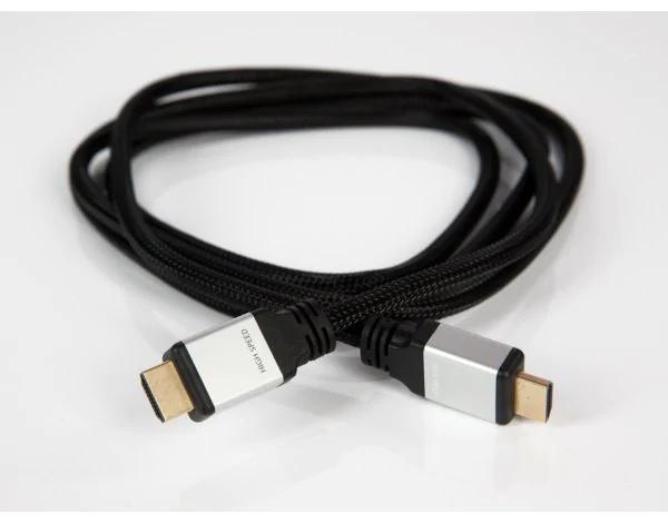Kabel HDMI - HDMI 1.5m w oplocie, Skymaster, odbiór os. 0zł