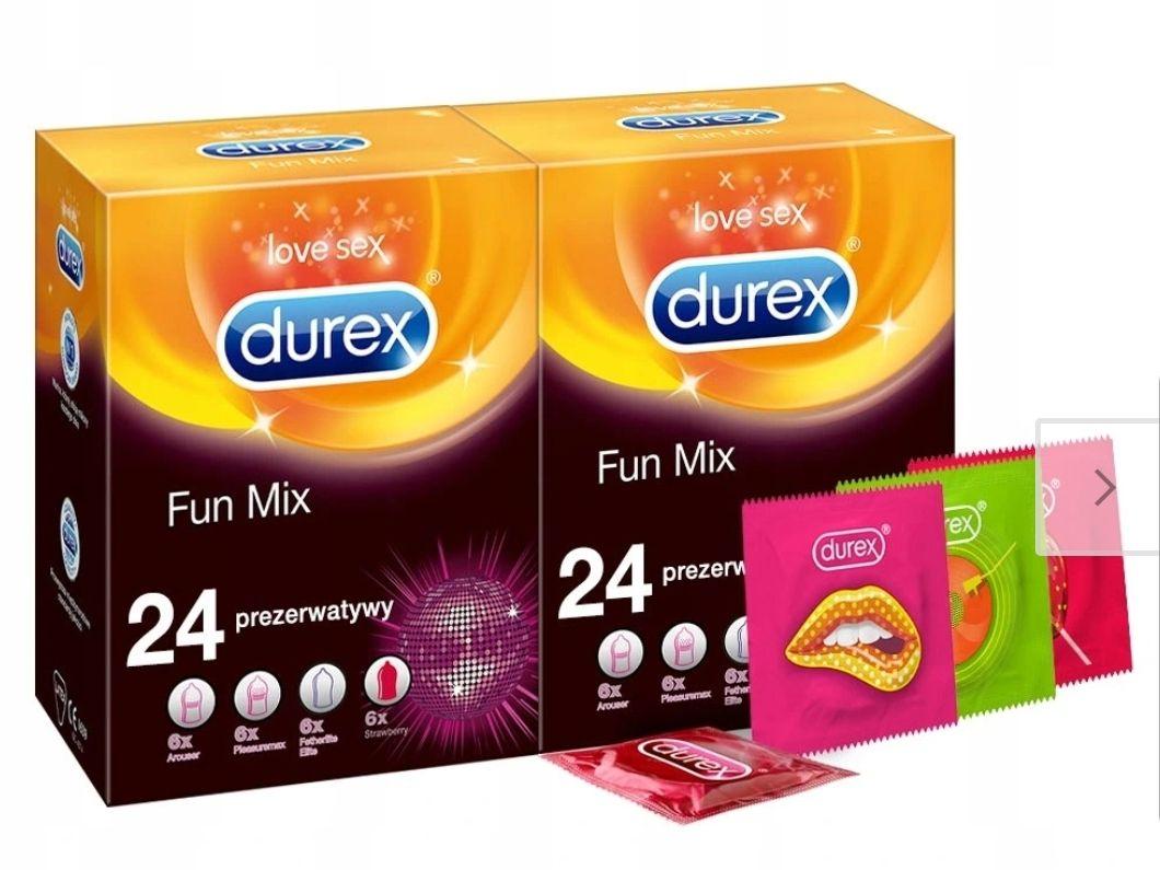 Prezerwatywy DUREX 48 szt Fun Explosion zestaw