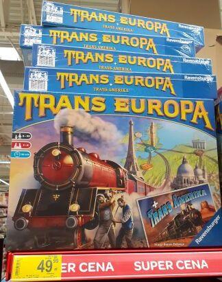 Gra planszowa Trans Europa