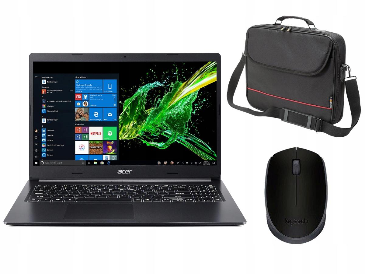 Acer A515-44-R54F Ryzen 5 4500U, 512GB SSD, 8GB RAM, W10 + TORBA + MYSZ + 6 monet - Ole Ole/Allegro