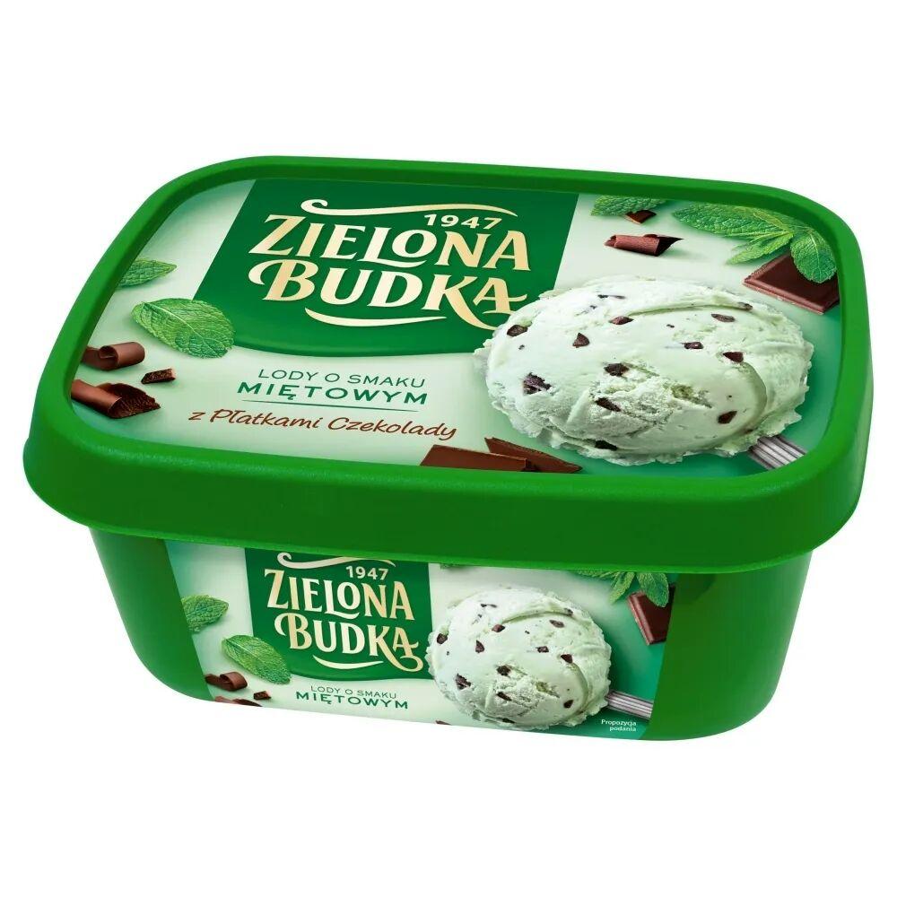 Lody Zielona Budka 1L. Intermarche