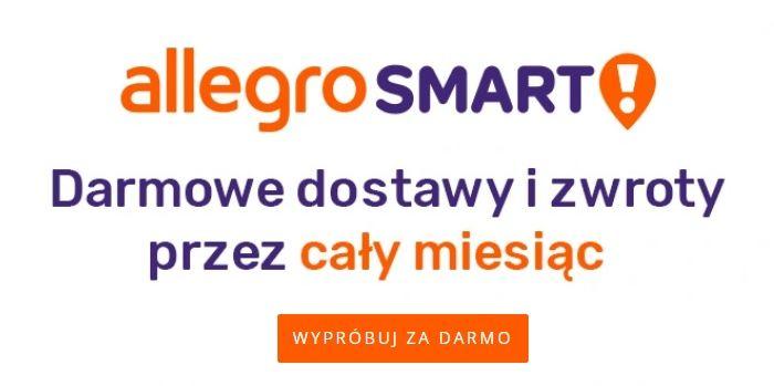 Allegro Smart! za Darmo dla nowych przez 1 miesiąc