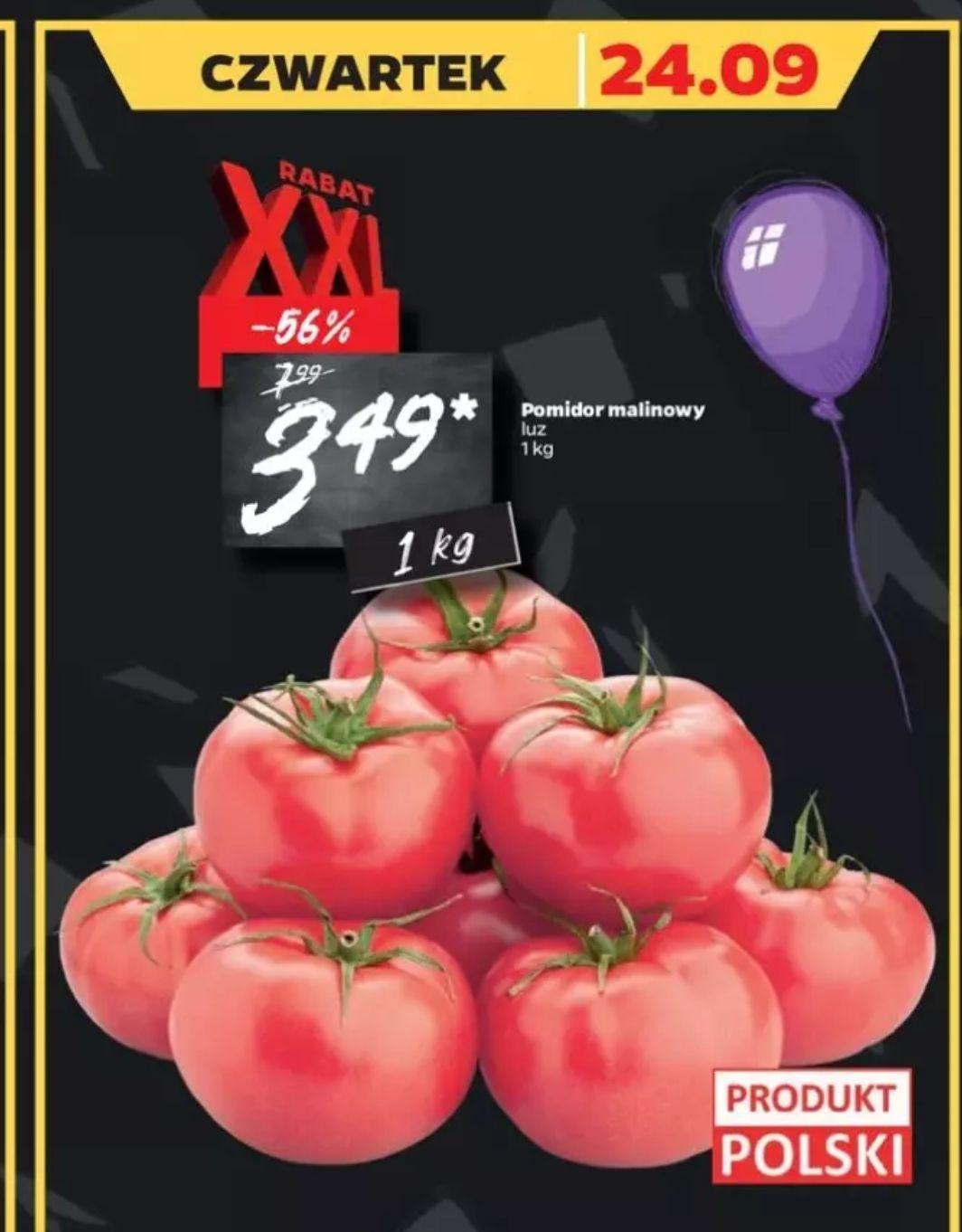 Pomidor malinowy w Netto