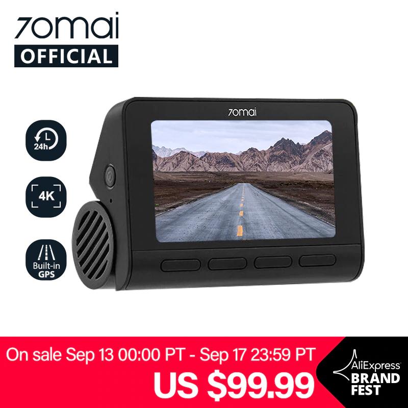 70mai A800 4K Wideorejestrator kamera samochodowa