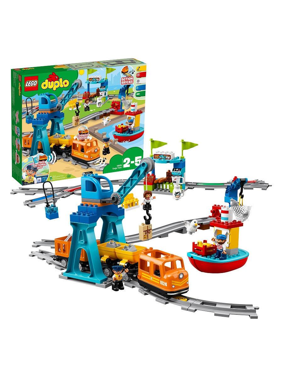 LEGO 10875 Duplo - Pociąg towarowy